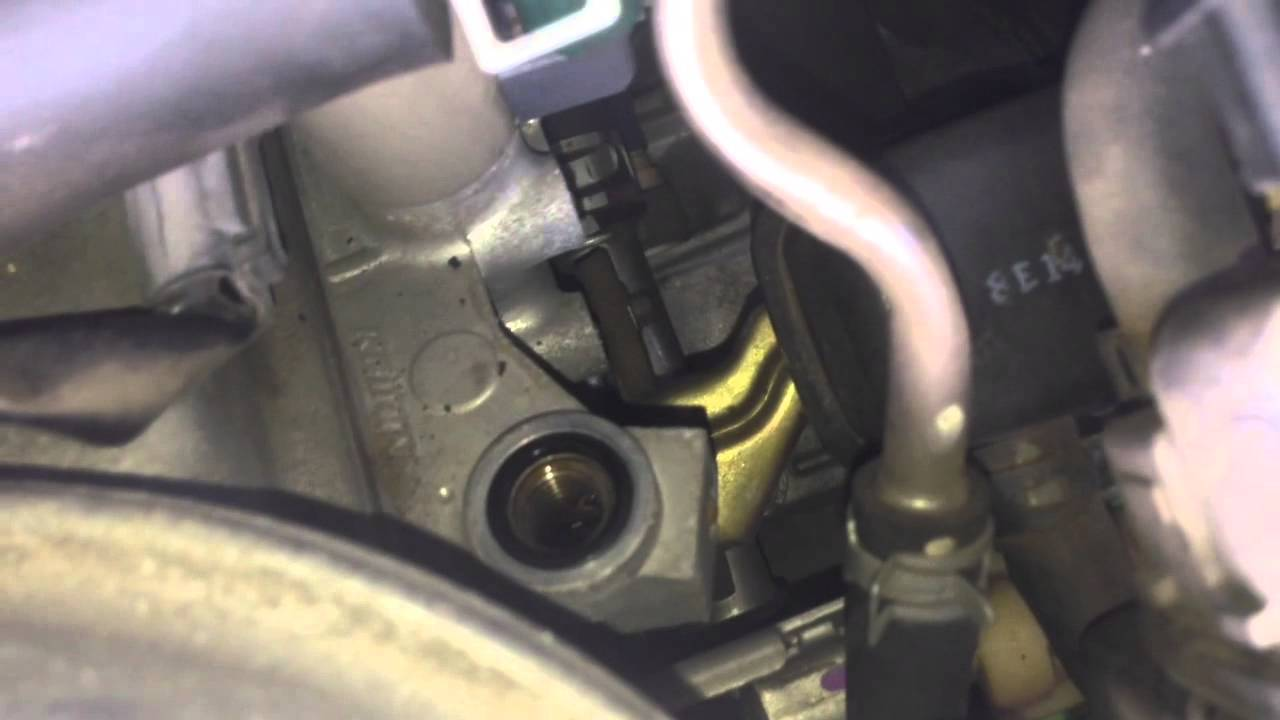 2014 Mazda 3 Oil Change >> 08 Honda Odyssey VCM oil pressure switch - YouTube