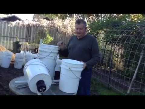 Self watering garden containers 5 gallon bucket - Self watering 5 gallon bucket garden ...