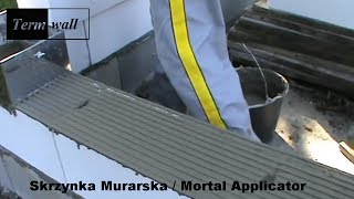 Skrzynka Murarska 240-420 mm klej / Mortar Applicator glue 3