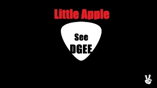 T-ARA 티아라 Little Apple guitar cover song voice by See Dgee