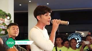 Bất ngờ với cách xử lý của fan khi Jun gặp sự cố với âm thanh | DNX