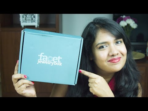Facet Jewelry subscription Box Opening & Review 2018 | Jewelry making kit