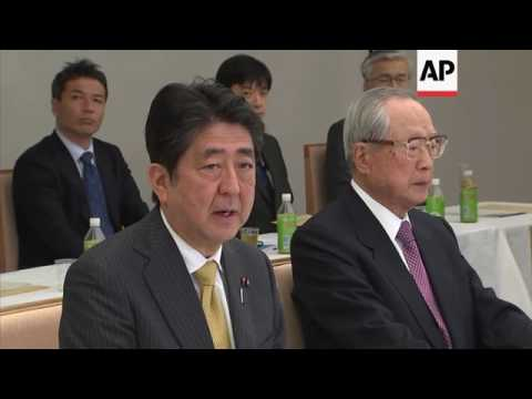 Abe on possible Japan emperor abdication