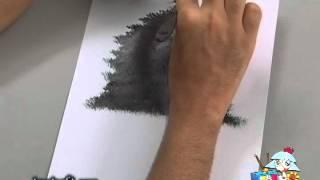 Pintura em Tela - Aula do Bambuzal - Parte I (Jr. Misaki)