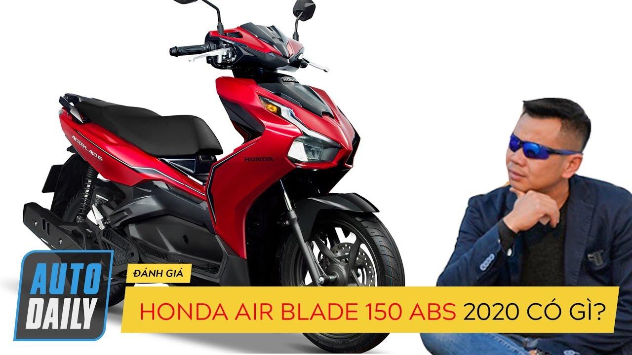 Honda Air Blade 2020 150cc phanh ABS được trang bị tiện ích như Honda SH?