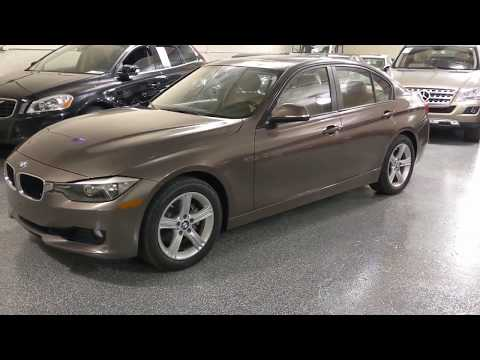 2013 Sparkling Bronze Metallic /Cream Beige BMW 3-Series 328i xDrive Sedan (WBA3B3C5XDF) with an 2.0L L4 DOHC 16V engine, Automatic transmission, located at 603 Amelia Street, Plymouth, MI, 48170, (734) 459-5520, 42.378841, -83.464546 - Photo #0