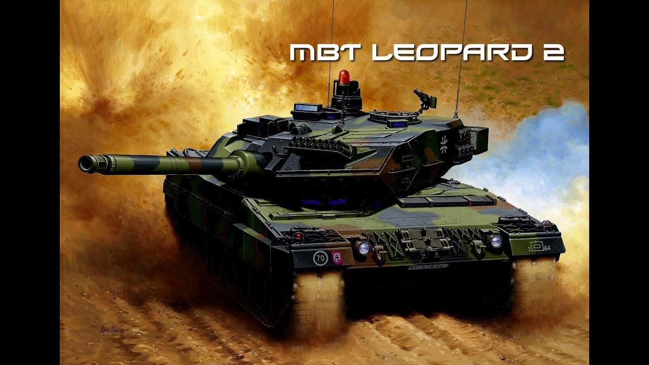 Mbt Leopard 2 Panzer 2015 Hd