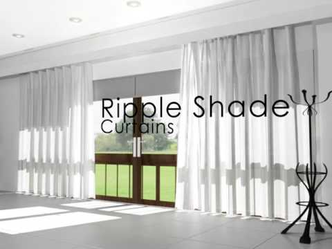 Sheer Ripple Shade Curtains