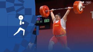 Тяжелая атлетика жен Сумма Свыше 87 кг Олимпиада 2020 Обзор