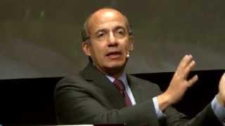 Felipe Calderón – Discurso de clausura: Financiamento de los paisajes sostenibles