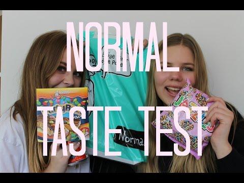 Taste Test ⎜ Normal ♡