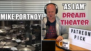 Drum Teacher Reacts: MIKE PORTNOY   'As I Am' - Dream Theater   (2020 Reaction)