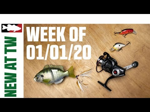 What's New At Tackle Warehouse W. Jake Cotta - 01/01/20