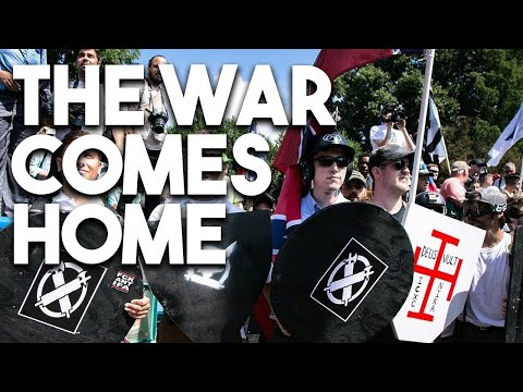 War comes home: The racist right after Charlottesville, with Eugene Puryear (Moderate Rebels Ep. 4)