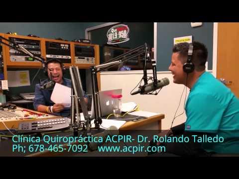 Quiropráctico en Duluth-Entrevista en la radio La Que Buena 101.9 FM