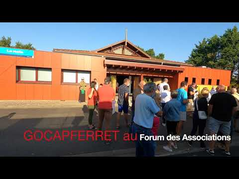 FA01 - Préambule de l'ouverture du Forum des Associations de lège-Cap Ferret