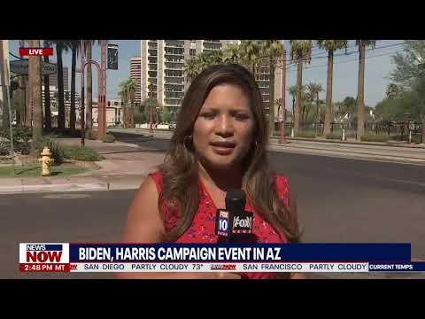 BIDEN & HARRIS visit battleground state AZ