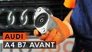 Wie AUDI A4 Avant (8ED, B7) Bremssattel Reparatursatz auswechseln - Tutorial