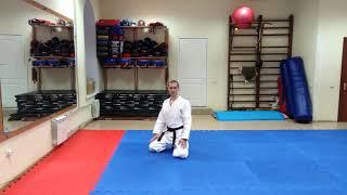Передвижения на коленях в айкидо. Урок
