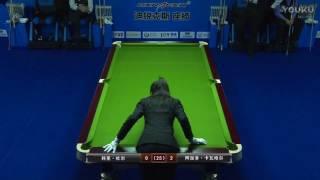 Corey Deuel VS Alejandro Carvajal Ossandon - 2017 World Chinese 8 Ball