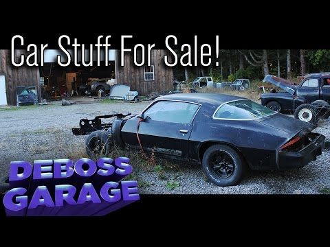 FOR SALE: '79 Z28 Camaro, Dodge & Chevy Truck Parts & More!