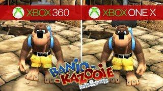Banjo Kazooie: Nuts & Bolts Comparison - Xbox 360 vs. Xbox One X