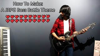 How To: Make a JRPG Boss Battle Theme in 5 Min or Less (+ Full Song at the End) || Shady Cicada