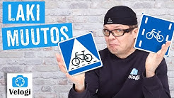 Uusi tieliikennelaki - muutokset pyöräilijälle