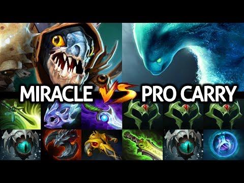 MIRACLE [Slark] Insane Attack Speed Against Pro Morphling 7.23 Dota 2