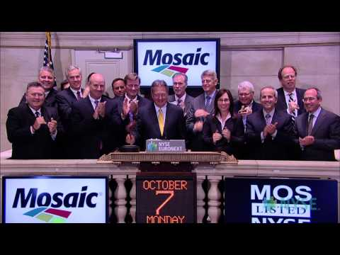 The Mosaic Company Visits The New York Stock Exchange For Its Analyst Day