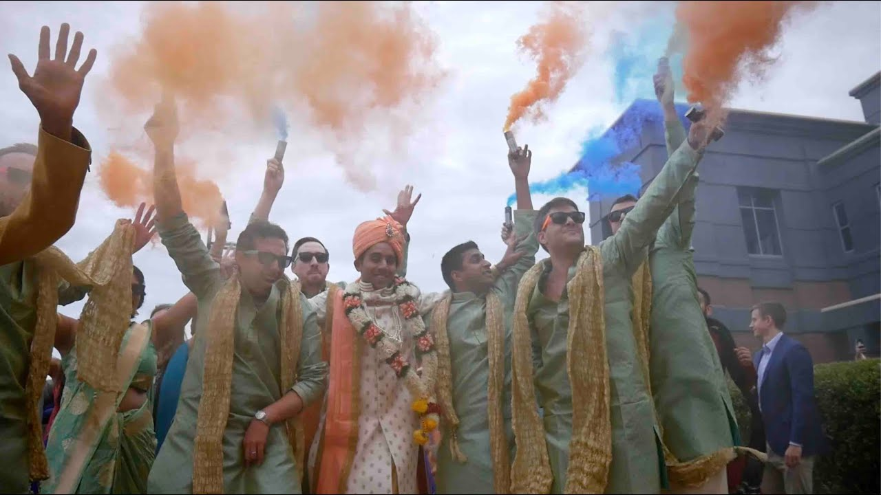 Epic Indian Wedding in Portsmouth Virginia by eMotion Pictures Wedding Films