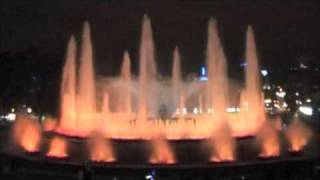 Поющий фонтан в Барселоне(фонтаны., 2009-06-10T15:03:00.000Z)