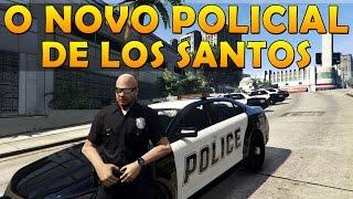 LSPDFR O novo policial de Los Santos GTA V LSPDFR MOD
