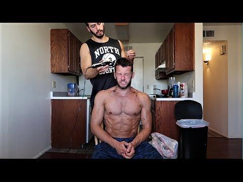 BERBER OLDUM !! | Brendan'a Saç Traşı Yaparsam... (Vlog)