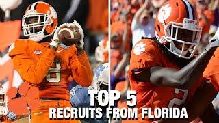 Best Clemson Football Florida Recruits Since CJ Spiller