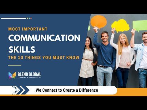 Communication Skills Training Video in English    Top 10 Communication Skills   Online Free Course