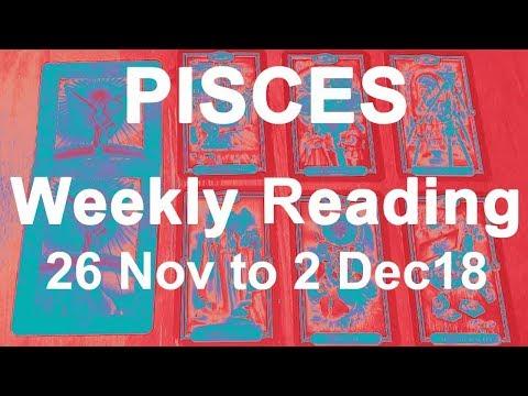 pisces weekly tarot november 26 2019