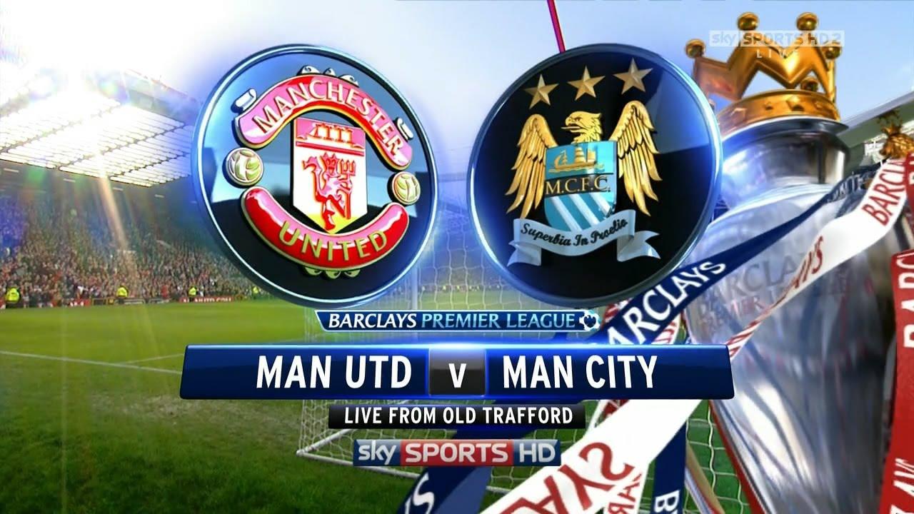 man united vs man. city