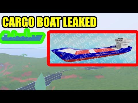 CARGO BOAT ROBBERY LEAKED! | Roblox Jailbreak New Update