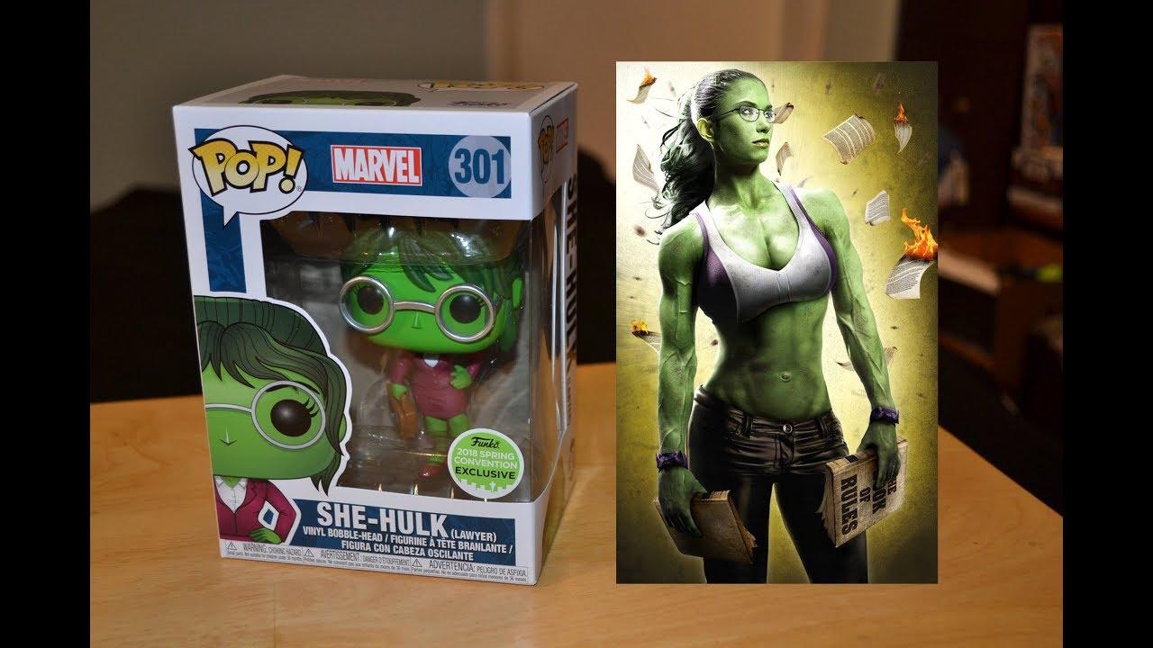 She-Hulk Marvel Vinyl Bobble Funko POP