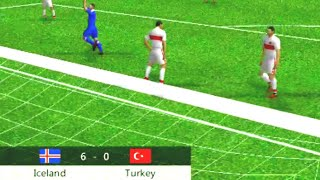 Iceland bonam Turkey 6_0 football match by Long Time Game android Gameplay HD sm munna gaming
