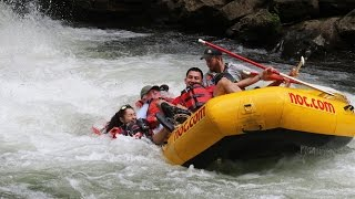 Repeat youtube video We almost DIED while White water Rafting!!