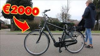 MIJN €2000,- elektrische FIETS GEJAT!! (LANGS BIJ POLITIE)