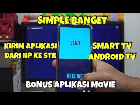 Cara Kirim Aplikasi ke Android TV