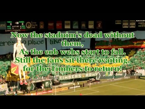 Green is the Color - The Portland Timbers song