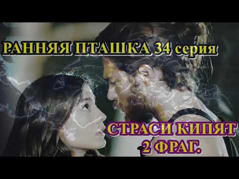 Ранняя пташка 34 серия,   СТРАСТИ КИПЯТ 2 фраг.