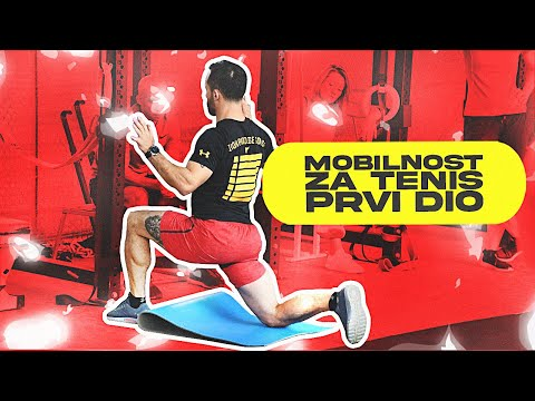 Mobility for tennis by Borna Coric-part 1