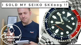 Why I Sold my Seiko SKX009
