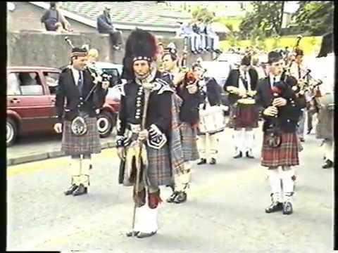 Tercentenary Band Parade Ballymena 2nd June 1990