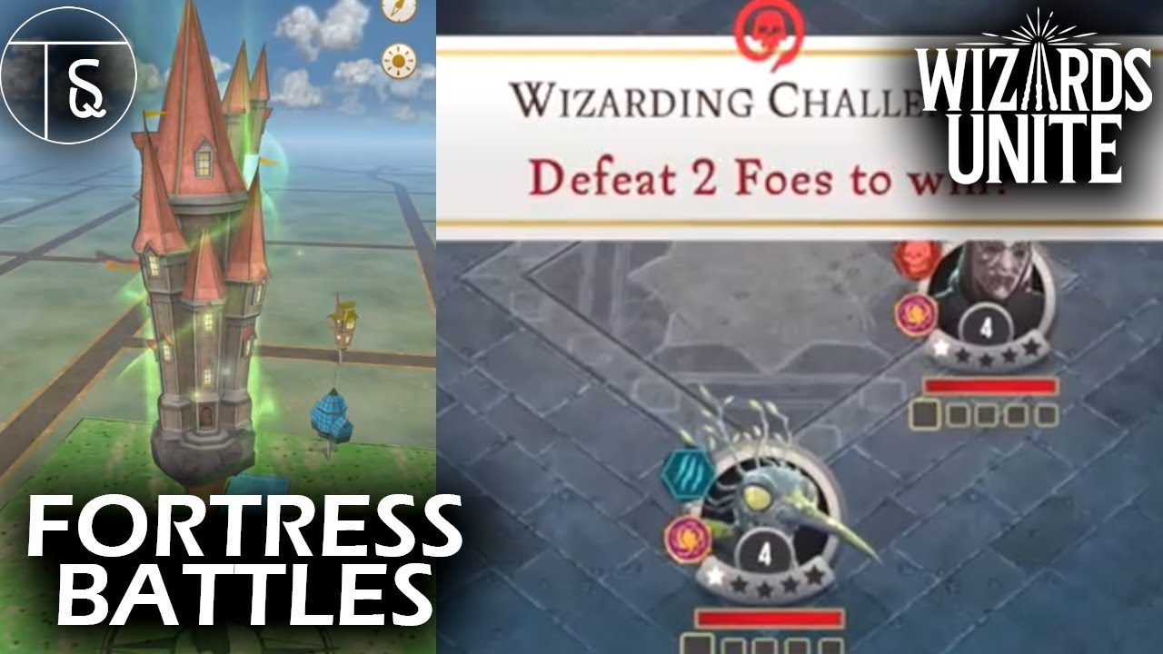 How to do Fortress Battles in Harry Potter: Wizards Unite! (Wizarding  Challenges)